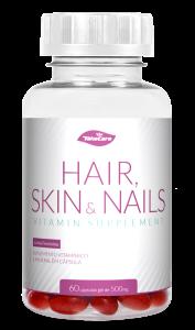 Hair, Skin  Nails: 60 cápsulas de 500mg