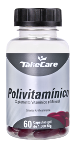 Polivitamínico: 60 cápsulas softgel de 1.000 mg