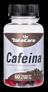 Cafeína Take Care 60 cápsulas softgel 500mg